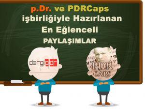 p.Dr. ve PDRCaps İşbirliğiyle  EN BEĞENİLEN PAYLAŞIMLAR