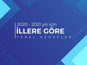 2020-20201 YILI İÇİN İLLERE GÖRE GÜNCEL YEREL HEDEFLER