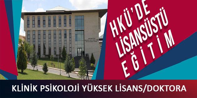 Hasan Kalyoncu Üniversitesi Klinik Psikoloji Yüksek Lisans Başvurusu