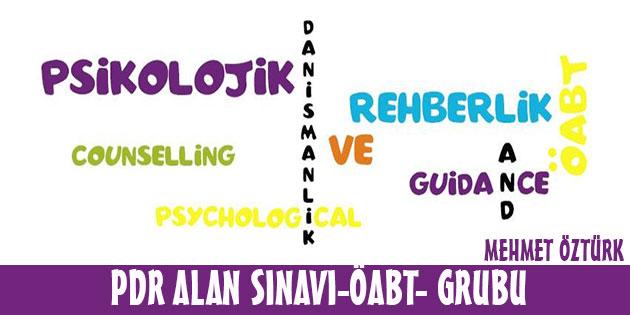 PDR Alan Sınavı-ÖABT-  Facebook Grubu