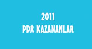 2011'in Şanslı PDR'cileri :)