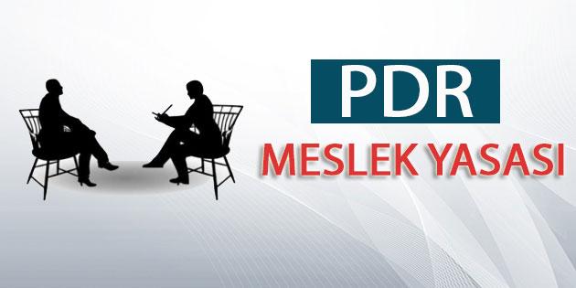 PDR Meslek Yasası