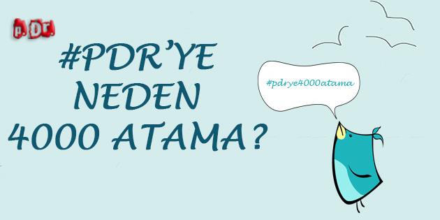 Psikolojik Danışma ve Rehberliğe Neden 4000 Atama?
