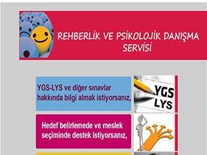 Rehberlik ve Psikolojik Danışma Servisi Tanıtımı- Afiş