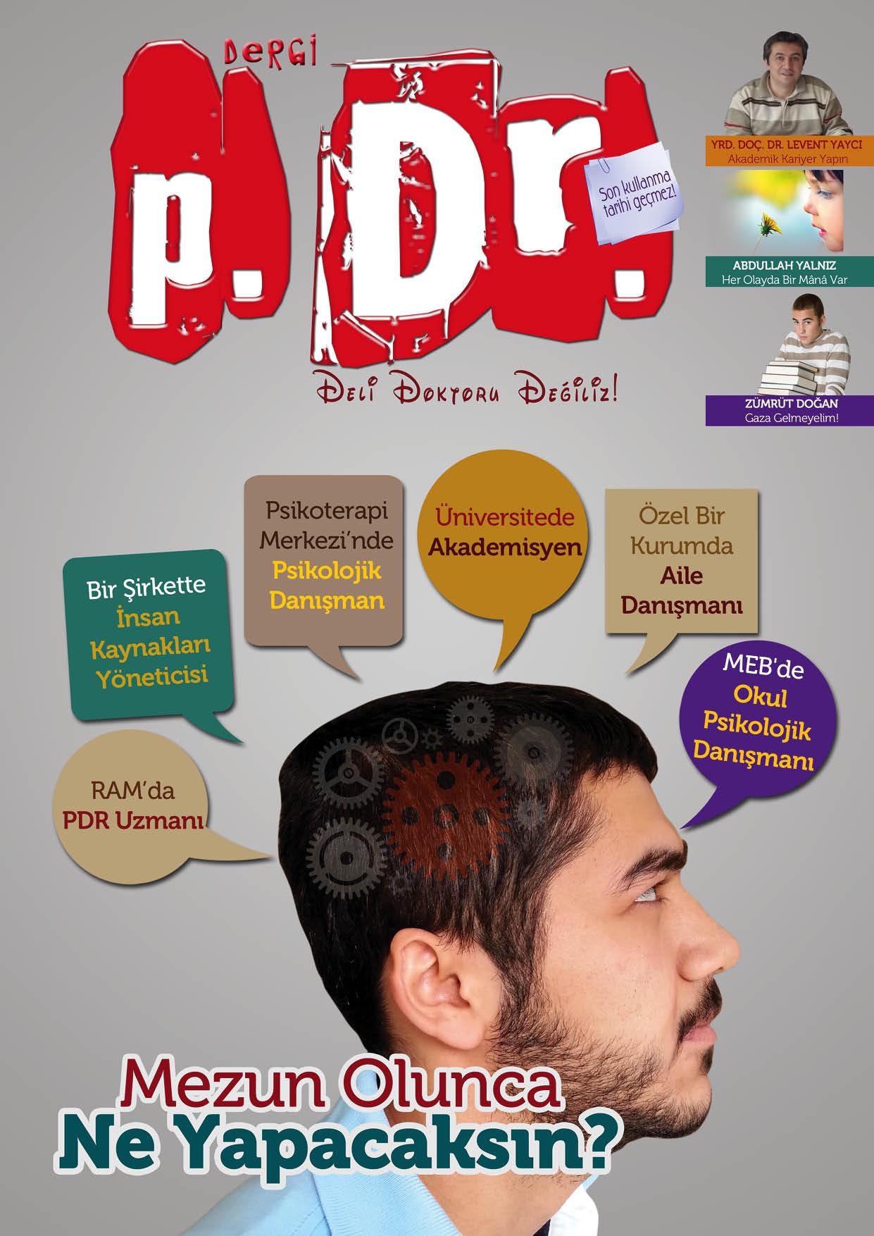 Vee... Dergi p.Dr. Nisan 2013 Sayısı Yayınlandı