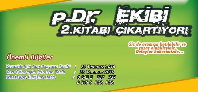 p.Dr. EKİBİ, 2. KİTABI ÇIKARTIYOR!