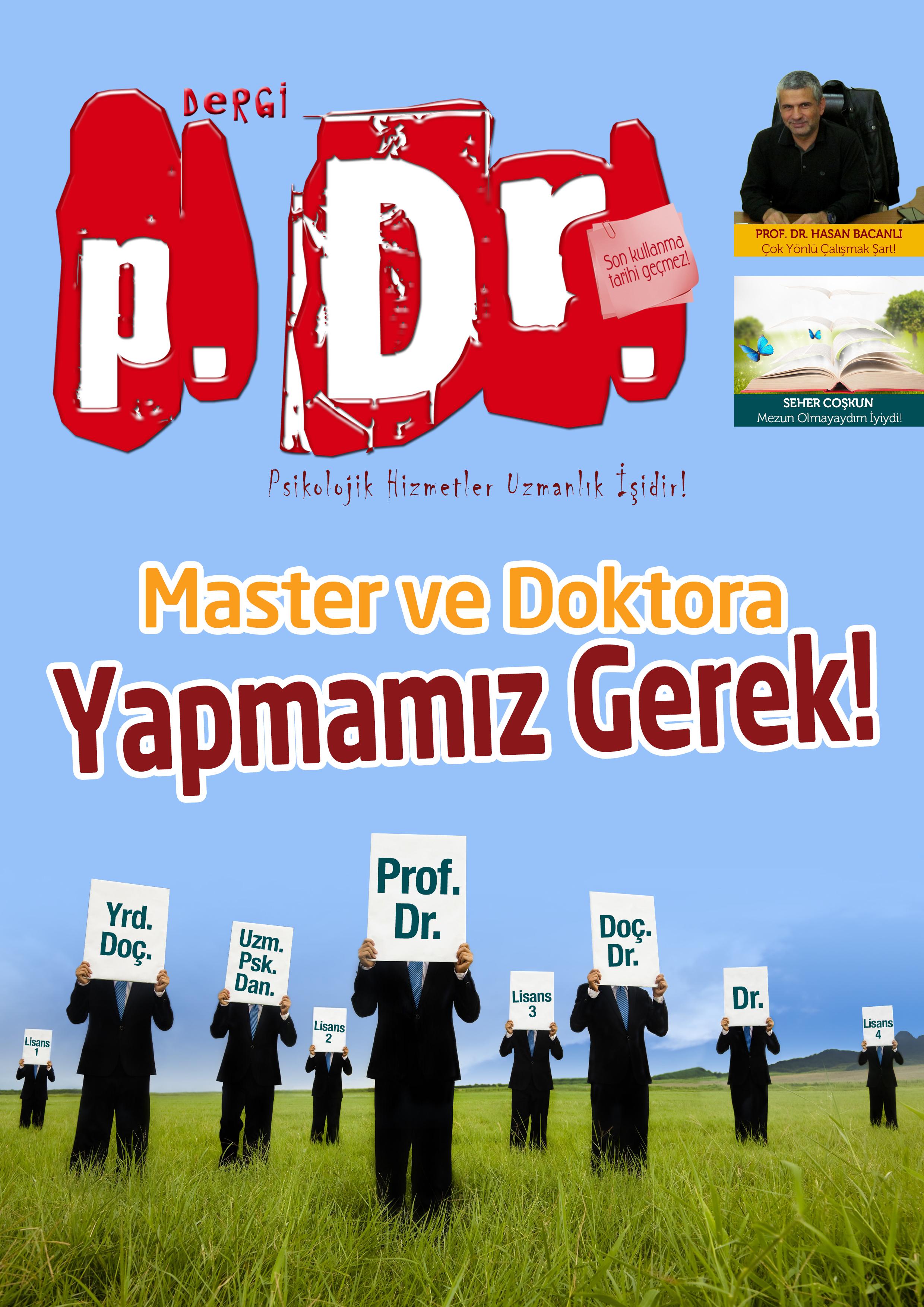 Dergi P.Dr. Aralık-Ocak 2013 Sayısı Çıktı!