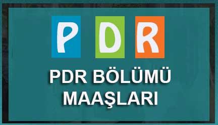PDR Mezunları Ne Kadar Maaş Alıyor?