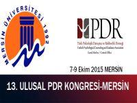 13. Ulusal PDR Kongresi MERSİN'DE!
