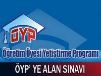 ÖYP'ye Alan Sınavı Getirildi