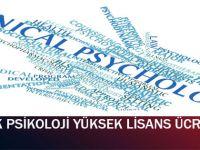 Klinik Psikoloji Yüksek Lisans Ücretleri (2015)