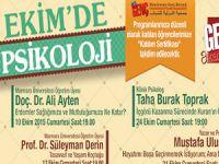 Üsküdar'da Psikoloji Konferansları Var!
