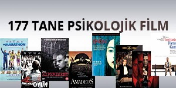 177 Tane Psikolojik Film (PDR'ciler İçin Yeniden Güncellenmiş Liste)