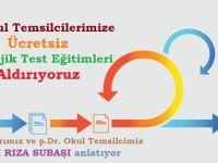 p.Dr. OKUL TEMSİLCİLERİMİZE ÜCRETSİZ PSİKOLOJİK TEST EĞİTİMLERİ ALDIRIYORUZ (2. YAZI)