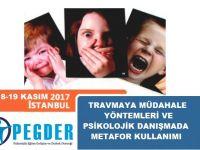 """PEGDER'DEN İSTANBUL'DA """"TRAVMAYA MÜDAHALE YÖNTEMLERİ VE PSİKOLOJİK DANIŞMADA METAFOR KULLANIMI"""" EĞİTİMİ"""