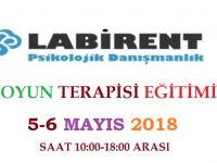 OYUN TERAPİSİ EĞİTİMİ 5-6 MAYIS'TA LABİRENT PSİKOLOJİ'DE