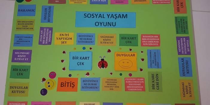 SOSYAL YAŞAM OYUNU (MONOPOLY FORMATINDA)
