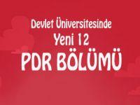 2014-2015 Eğitim Sezonunda, 12 Devlet Üniversitesinde Daha PDR Programı Açılacak